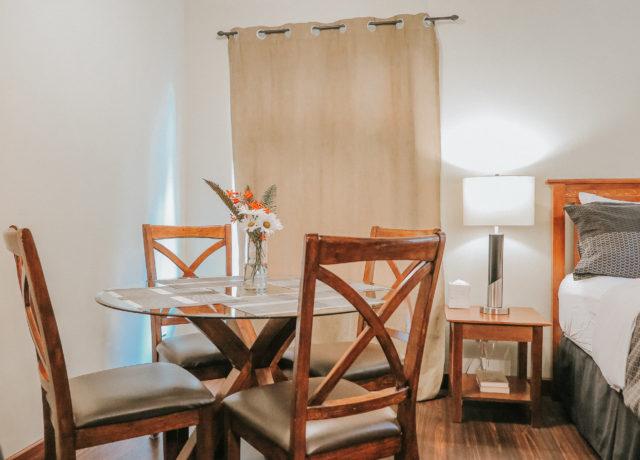 Tofino Vacation | Cobble Wood & Bird Sanctuary Guest houses | Hummingbird Suite